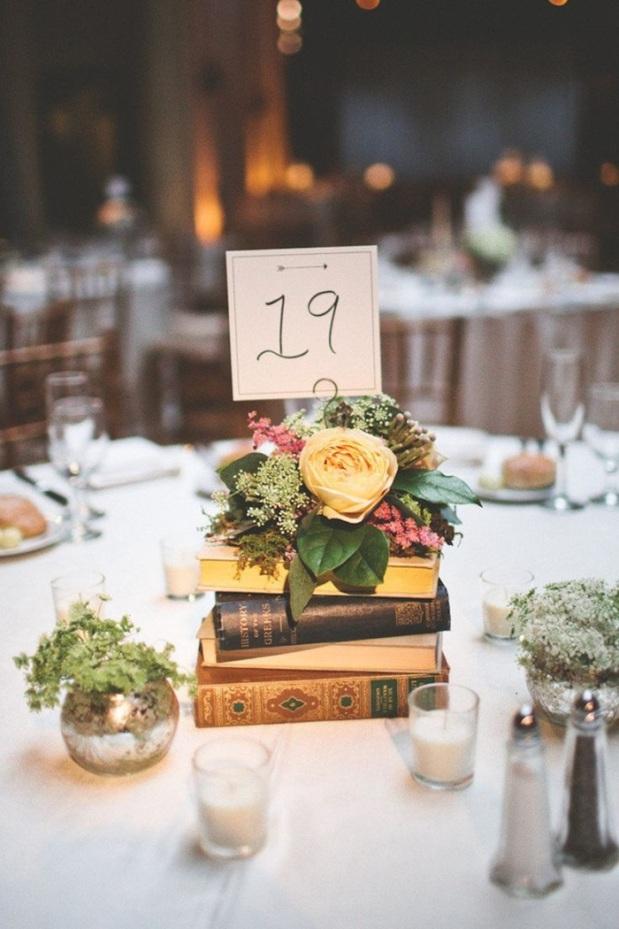 Livros decor casório