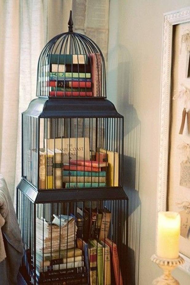 Livros gaiola
