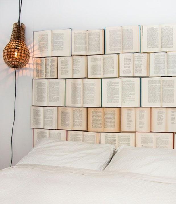 Livros parede